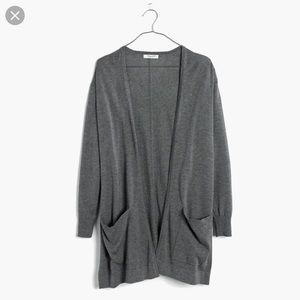 Madewell Coffeehouse Cardigan Gray ❣️